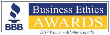 BBB Business Ethics Award - 2017 Winner Atlantic Canada - Logo