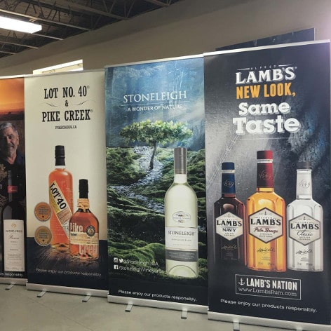 Corby Bannerstands