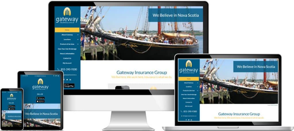 Gateway Insurance web sample
