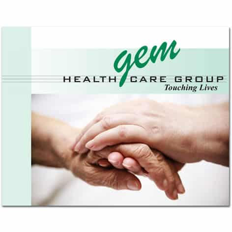 Gem Health Care Booklets