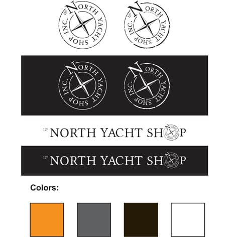 North Yacht Shop Branding