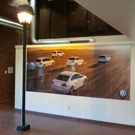 Volkswagen Canada Mural