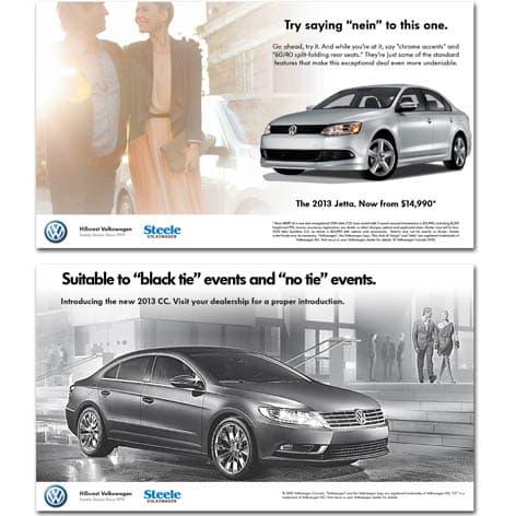 Volkswagen Canada Scotia Bank Center Ads