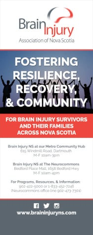 Brain Injury NS bannerstand