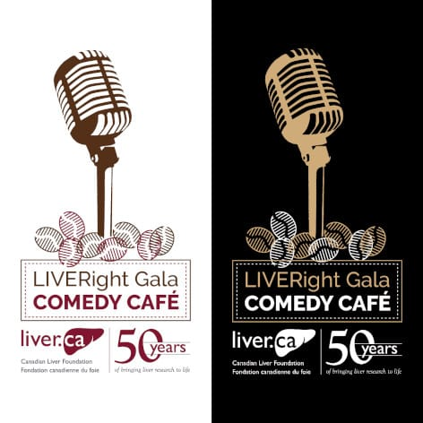 Canadian Liver Foundation LIVERight Gala Comedy Cafe logo